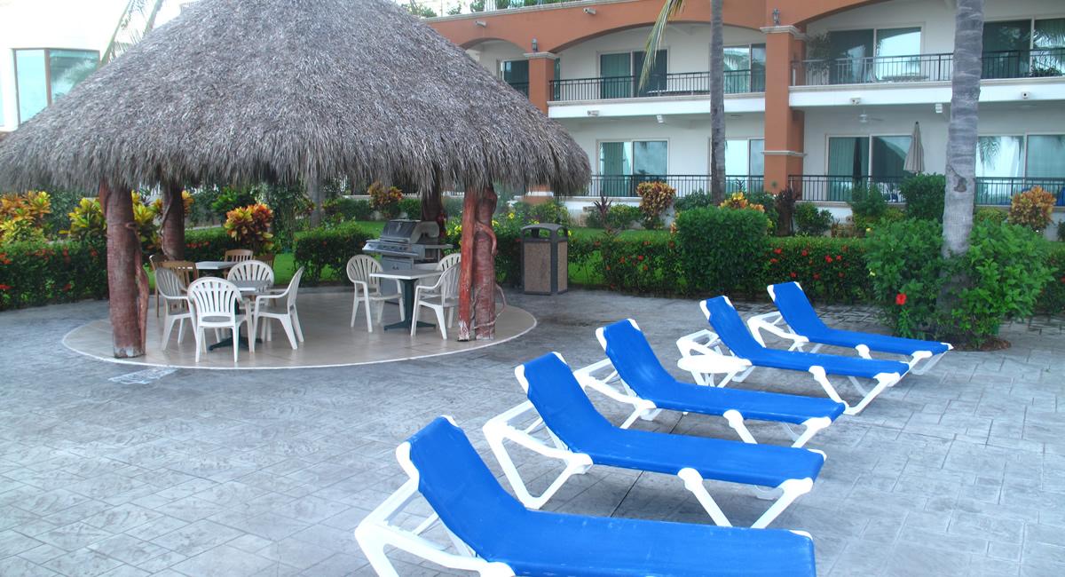 Camastros Condominio Playa Royale en Nuevo Vallarta