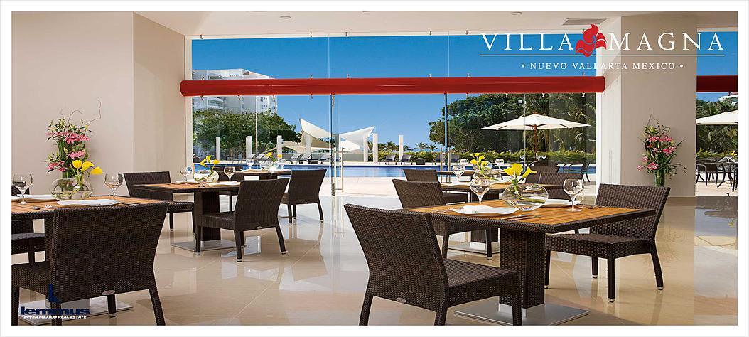 Desarrollo villa magna en nuevo vallarta real estate in for Alberca restaurante