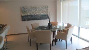 Comedor con vista al mar Desarrollo Península en Nuevo Vallarta