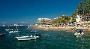 Playa los muertos Bahía de Banderas Puerto Vallarta