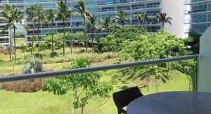 Vista terraza Condominio Península en Nuevo Vallarta