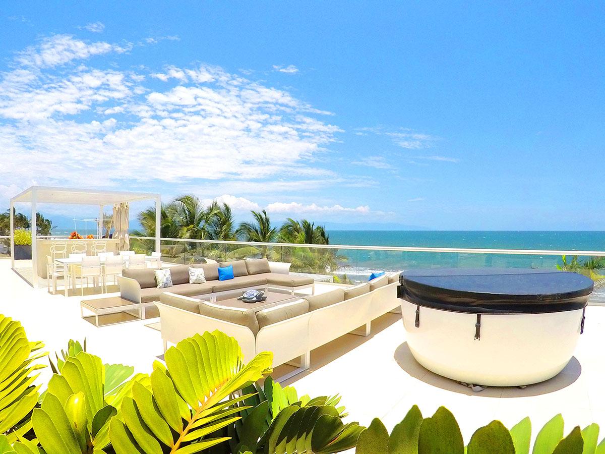 Penthouse Beach Front Peninsula Nuevo Vallarta Mexico