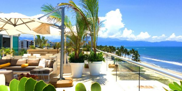 South View Ocean Front Corner Penthouse in Peninsula Nuevo Vallarta Mexico